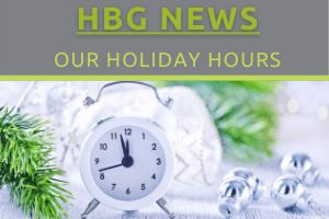 HBG News - Christmas Closure