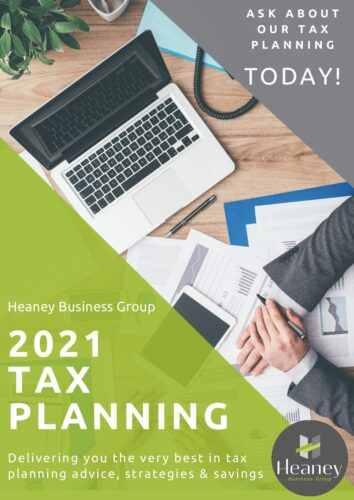 Heaney Business Group - 2021 Tax Planning Flyer