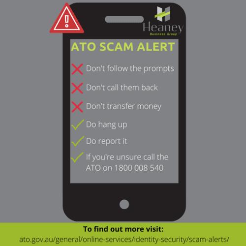 ATO Scam Alert