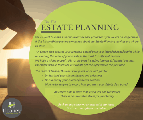 Tax Tip: Estate Planning