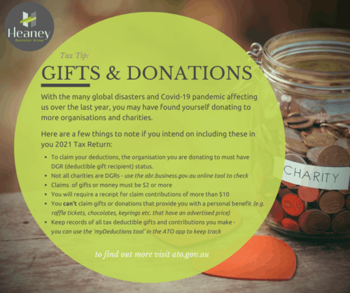 Gifts & Donations