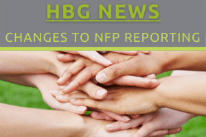 Change to NFP Reporting Process
