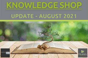 Knowledge Shop Newsletter - August 2021