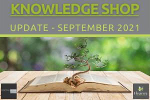 Knowledge Shop - September 2021